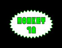 MONKEY92 - FREE FONT