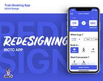 IRCTC App UI Redesign - Train Booking App