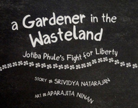 Typeface Design - A Gardener in the Wasteland