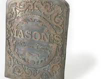Copper Plate - Mason's Woman Corps