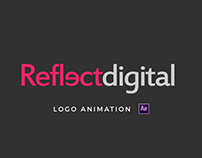 Reflect Digital | Logo Animation in AE
