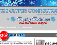 eNewsletter Design for OlyPen