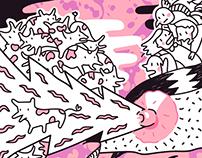 Las RRR y el monstruo del Tercer Pezón