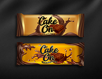 Cake on Wrapper Design