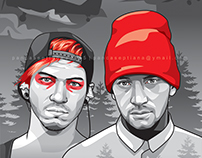 Twenty One Pilots | Vector Art