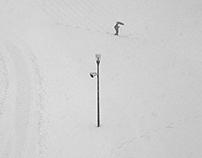 Black&White_Alone in the snow_1