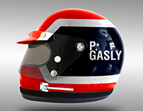 1970's Style F1 2017 Helmets