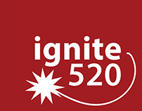 Ignite:520 Young Professionals Conference Branding