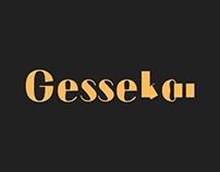 Gessekai | A DRUNK FONT
