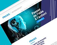 Praxis _ Site Web