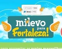Milevo para Fortaleza