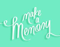 Make a Memory // Branding