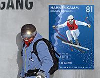 Hahnenkamm Rennen - Poster