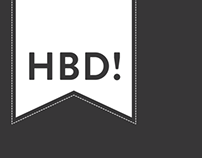 Happy Birthday logos  :)