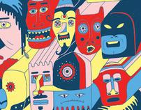 Adult Swim Comicon Poster/Mural