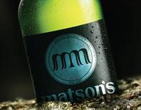 Matsons Brewery Rebrand