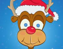 Merry Christmas - Reindeer