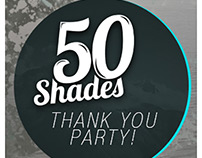 50Shades - Thank You Party