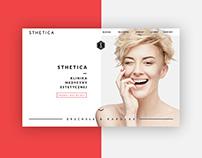 WEB DESIGN / Aesthetic Medicine Clinic / Sthetica