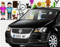 """Volkswagen Touran """"Tetris"""""""