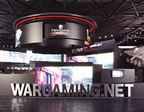 Wargaming Booth at the E3 2014