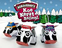 Ben&Jerry's - Cow Xmas Balls