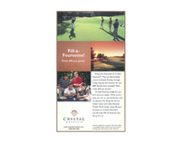Crystal Mountain Golf Ads