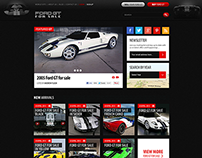 Ford GT - Website and Mobile UI & UX
