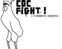 Coc Fight t-shirts desing