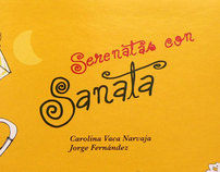 SERENATAS CON SANATAS  I CD música infantil
