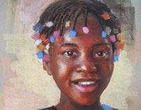 Pastel Portraits (Haiti)