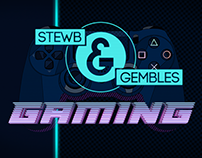 STEWB AND GEMBLES GAMING // ANIMATED TITLE