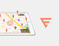 Fire Command - iPad Design  - Real-Time Dispatch