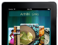 Arthriti Links Application Pages/Website