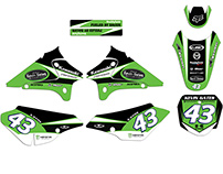 Kawasaki KLX 125 L Custom Graphics Kit
