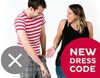 iiNet New Dress Code Staff Posters