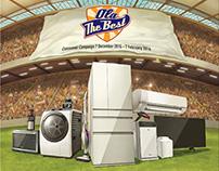 Panasonic commercial Illustration
