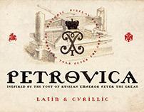 Petrovica - Russian Emperor font