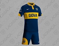 Boca Juniors' kits
