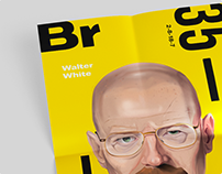 Breaking Bad-Poster Illustration