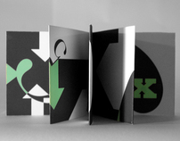 Typographic Accordion Book