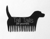 Tall Tails Pet Groomers Branding