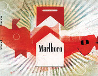 MARLBORO AVERTISING ARTWORK