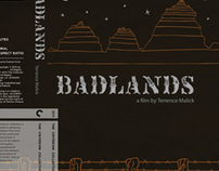 BADLANDS dvd case design