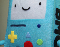 Beemo from Adventure Time - A Christmas Gift