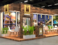 SOBHA Exhibition Design for Indian Property Show Duabi