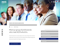 NCM Associates Website Design & Development