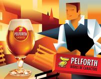 Pelforth brand illustrations