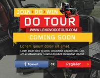 Lenovo DoTour Website Design