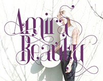 Amira Beauty Typeface